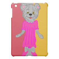 Bear in Dress iPad Case