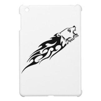 Bear in Flames iPad Mini Cover