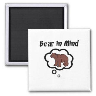 Bear in Mind Magnet