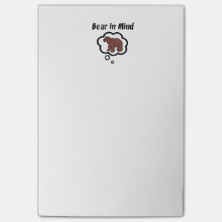 Bear in Mind Post-it® Notes