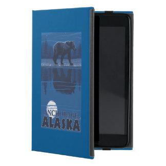 Bear in Moonlight - Anchorage, Alaska iPad Mini Case
