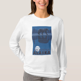 Bear in Moonlight - Anchorage, Alaska T-Shirt