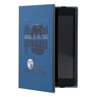 Bear in Moonlight - Bend, Oregon Covers For iPad Mini