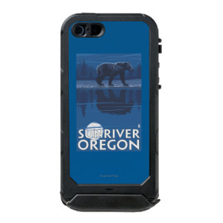 Bear in Moonlight - Sun River, Oregon Incipio ATLAS ID™ iPhone 5 Case