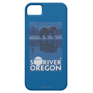 Bear in Moonlight - Sun River, Oregon iPhone 5 Case