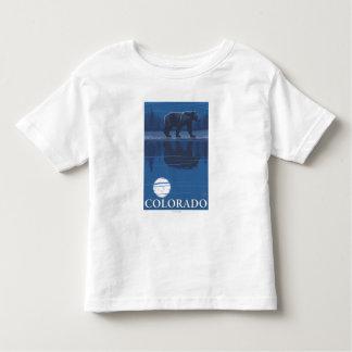 Bear in MoonlightColorado Toddler T-shirt