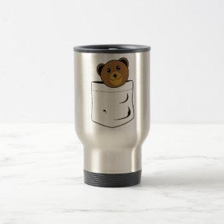 Bear in pocket travel mug