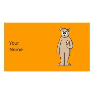 Bear in Summer. Business Cards