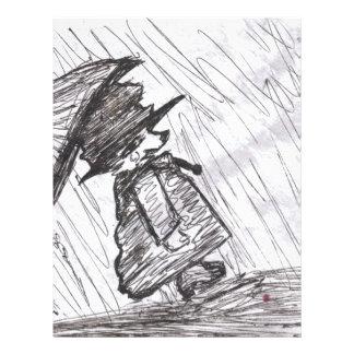 Bear in the Rain Flyer