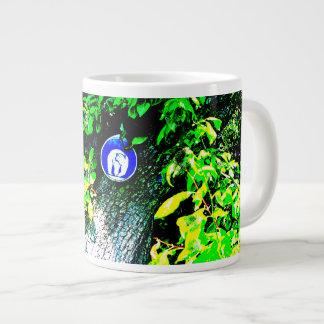 Bear In Tree Large Coffee Mug