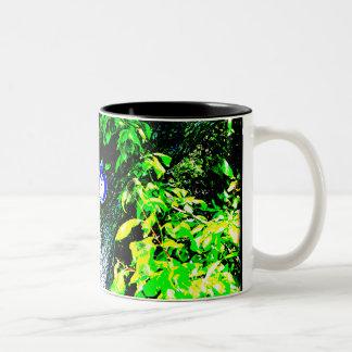 Bear In Tree Two-Tone Coffee Mug