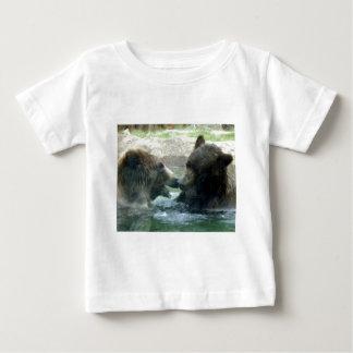 bear in water pencil art baby T-Shirt