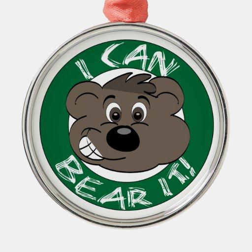 Bear It Christmas Christmas Ornaments