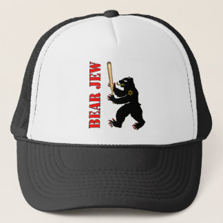 Bear Jew Trucker Hat