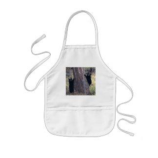 bear kids' apron