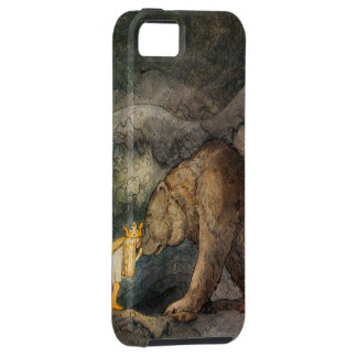 Bear Kiss iPhone 5 Cases