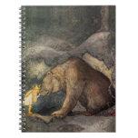 Bear Kiss Spiral Notebooks