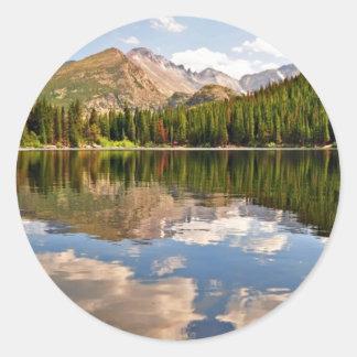 Bear Lake. Colorado. Classic Round Sticker