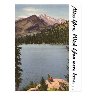 Bear Lake, Colorado Postcard