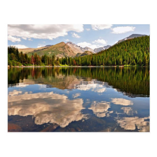 Bear Lake. Colorado. Postcard