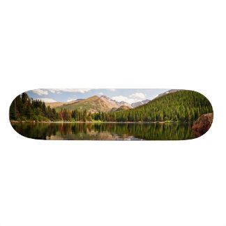 Bear Lake. Colorado. Skateboard