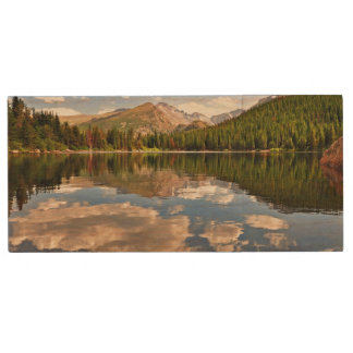 Bear Lake. Colorado. Wood USB Flash Drive