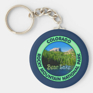 Bear Lake, Rocky Mountain National, Colorado Keychain