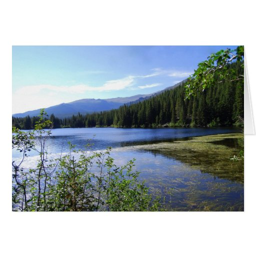 Bear Lake, Rocky Mountain National Park, Colorado Greeting Card