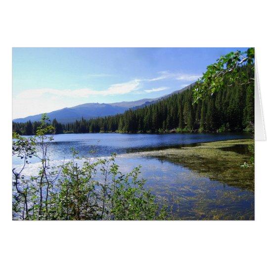 Bear Lake, Rocky Mountain National Park, Colorado Card