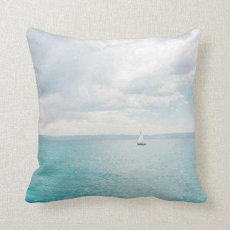 Bear Lake sailboat pillow