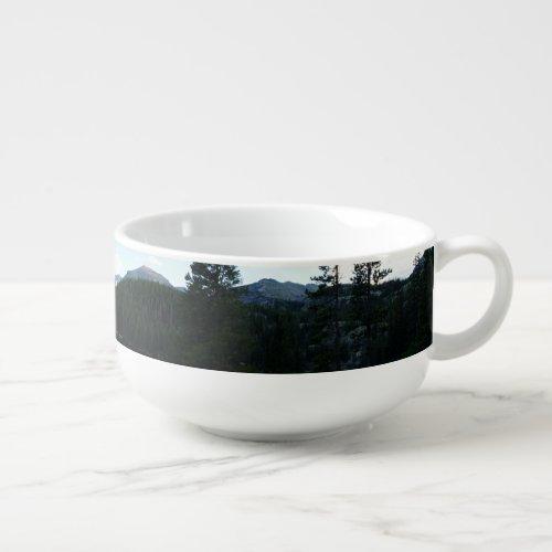 Bear Lake Scenery Soup Mug (3.4x5.4)