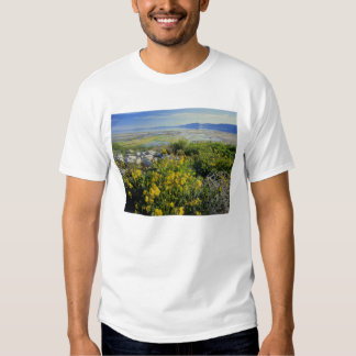 BEAR LAKE, UT, US, monkey-flower & tumbleweed, T Shirt