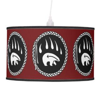 Bear Lamp Native Art Bear Lamp Tribal Gifts