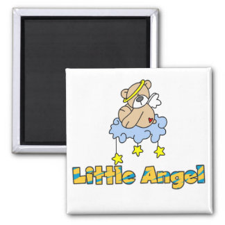 Bear Little Angel Tshirts and Gifts Refrigerator Magnets