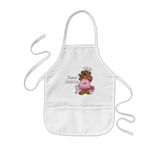 Bear Little Baker Custom Apron