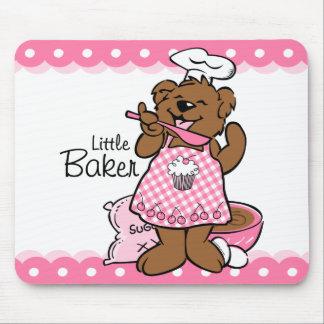 Bear Little Baker Mousepad