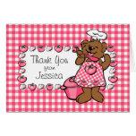Bear Little Chef Custom Card
