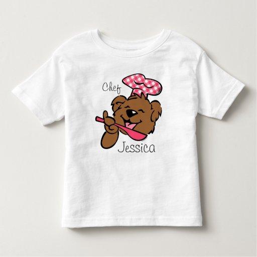 Bear Little Chef Custom Shirt
