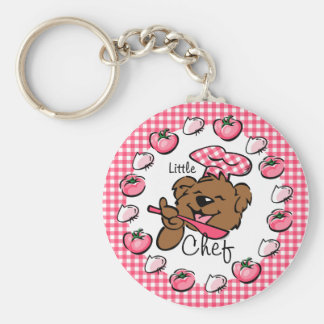 Bear Little Chef Keychain