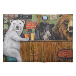 Bear Lodge 28 Cloth Placemat