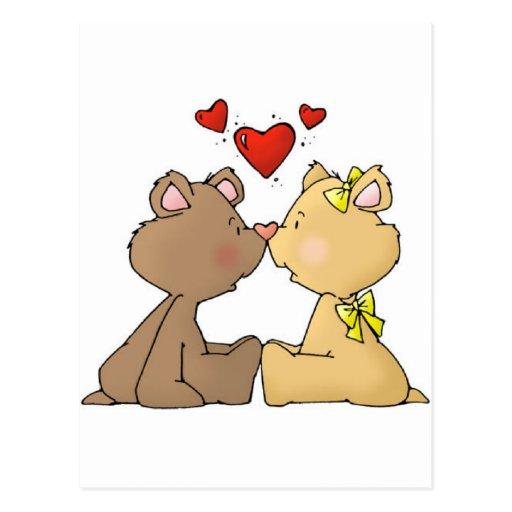 Bear Love Post Card