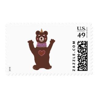 Bear Love Stamp