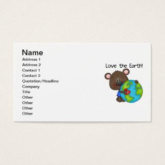Bear Love the Earth Business Card