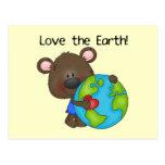 Bear Love the Earth Post Cards