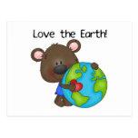 Bear Love the Earth Postcards
