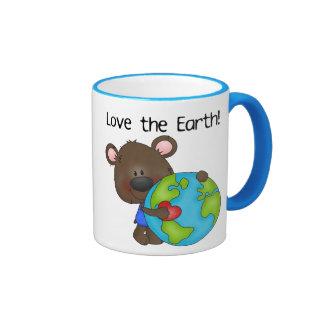 Bear Love the Earth Ringer Mug