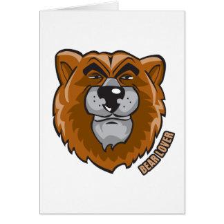 Bear Lover Card
