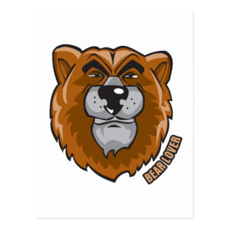 Bear Lover Postcard