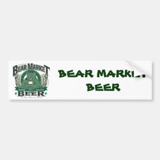 Bear-Market-CNBC-LARGE Car Bumper Sticker