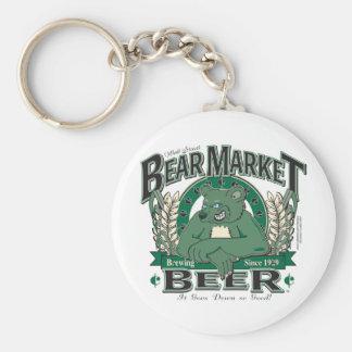 Bear-Market-CNBC-LARGE Keychain